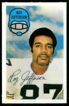 1970 Kelloggs #24 - Roy Jefferson - nm-mt