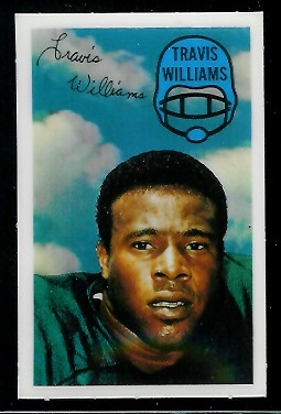 1970 Kelloggs #5 - Travis Williams - nm-mt