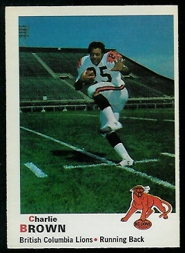 1970 O-Pee-Chee CFL #29 - Charlie Brown - nm-mt oc
