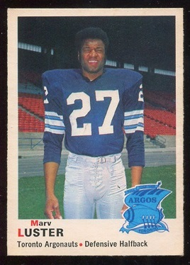 1970 O-Pee-Chee CFL #3 - Marv Luster - ex