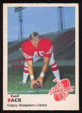 1970 O-Pee-Chee CFL #88 - Basil Bark - nm-mt oc
