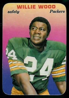 1970 Topps Super Glossy #10 - Willie Wood - nm-mt