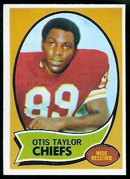 1970 Topps #103 - Otis Taylor - nm