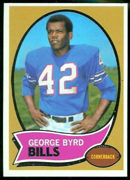 1970 Topps #119 - George Byrd - nm