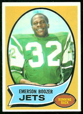 1970 Topps #128 - Emerson Boozer - nm