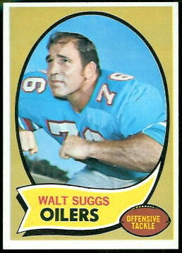 1970 Topps #204 - Walt Suggs - nm
