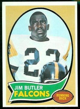 1970 Topps #234 - Jim Butler - nm