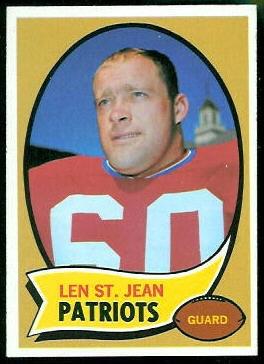 1970 Topps #33 - Len St. Jean - nm