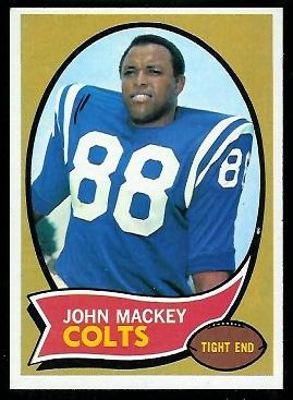 1970 Topps #62 - John Mackey - nm