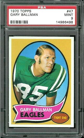 1970 Topps #47 - Gary Ballman - PSA 9