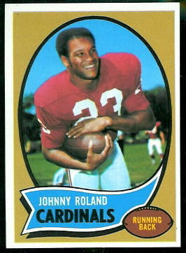 1970 Topps #76 - Johnny Roland - nm
