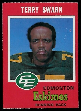 1971 O-Pee-Chee CFL #48 - Terry Swarn - nm