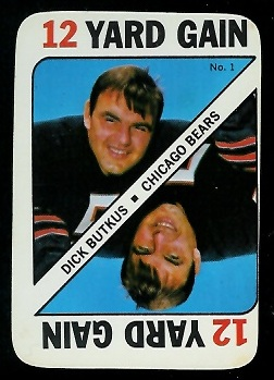 1971 Topps Game #1 - Dick Butkus - ex