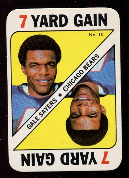 1971 Topps Game #10 - Gale Sayers - nm+