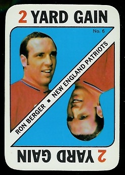 1971 Topps Game #6 - Ron Berger - nm+