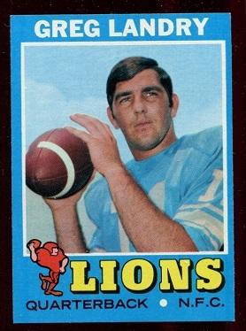 1971 Topps #11 - Greg Landry - nm