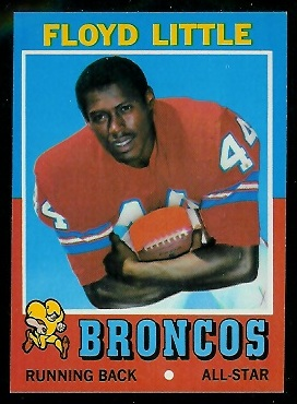 1971 Topps #110 - Floyd Little - nm