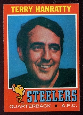1971 Topps #30 - Terry Hanratty - nm