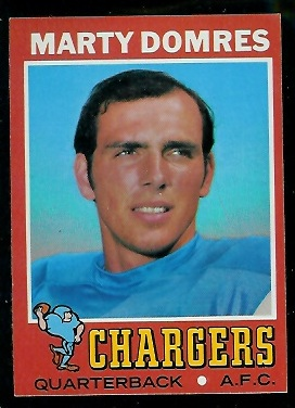 1971 Topps #66 - Marty Domres - nm