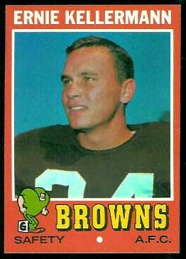 1971 Topps #7 - Ernie Kellermann - nm