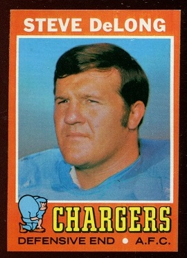 1971 Topps #92 - Steve DeLong - nm