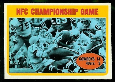1972 Topps #138 - NFC Championship Game - nm