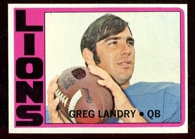 1972 Topps #174 - Greg Landry - nm