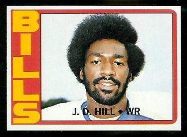 1972 Topps #188 - J.D. Hill - nm