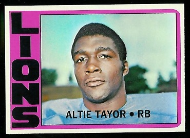 1972 Topps #199 - Altie Taylor - nm