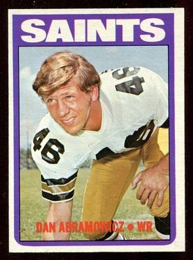 1972 Topps #213 - Dan Abramowicz - nm