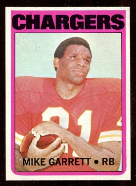 1972 Topps #241 - Mike Garrett - nm