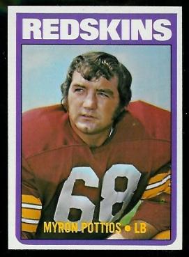 1972 Topps #243 - Myron Pottios - nm