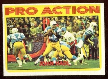1972 Topps #254 - John Hadl Pro Action - nm
