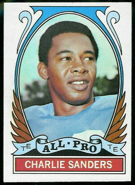 1972 Topps #264 - Charlie Sanders All-Pro - nm