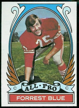 1972 Topps #269 - Forrest Blue All-Pro - nm