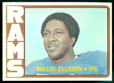 1972 Topps #62 - Willie Ellison - nm-mt