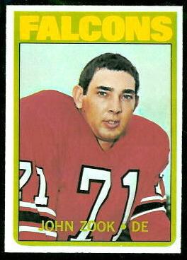 1972 Topps #91 - John Zook - nm