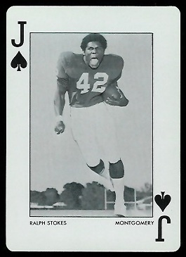 1973 Alabama Playing Cards #11S - Ralph Stokes - nm+