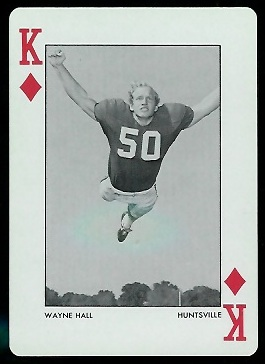 1973 Alabama Playing Cards #13D - Wayne Hall - nm+