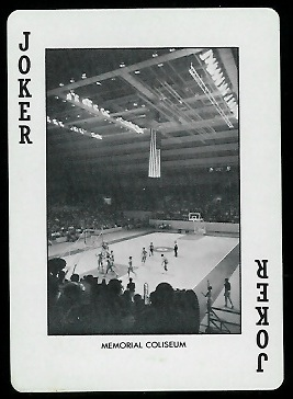 1973 Alabama Playing Cards #14A - Memorial Coliseum - exmt