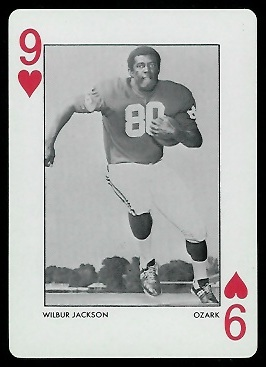 1973 Alabama Playing Cards #9H - Wilbur Jackson - nm+