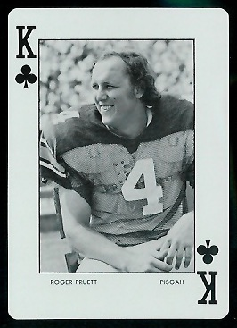 1973 Auburn Playing Cards #13C - Roger Pruett - mint