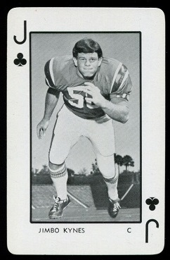 1973 Florida Playing Cards #11C - Jimbo Kynes - nm-mt