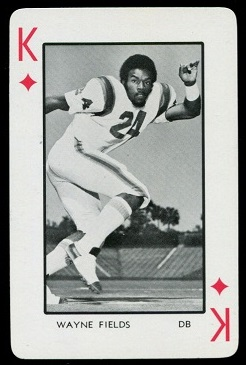 1973 Florida Playing Cards #13D - Wayne Fields - nm-mt