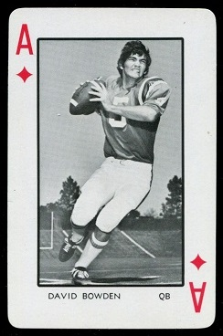1973 Florida Playing Cards #1D - David Bowden - nm-mt