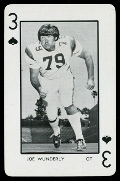 1973 Florida Playing Cards #3S - Joe Wunderly - nm