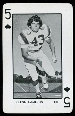 1973 Florida Playing Cards #5S - Glenn Cameron - nm-mt