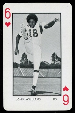 1973 Florida Playing Cards #6H - John Williams - mint
