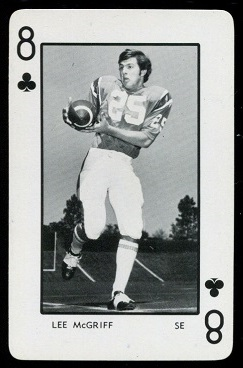 1973 Florida Playing Cards #8C - Lee McGriff - nm-mt