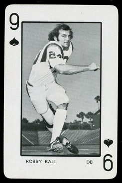1973 Florida Playing Cards #9S - Robby Ball - nm-mt